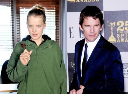 Joanna Kulig u boku Ethana Hawke'a