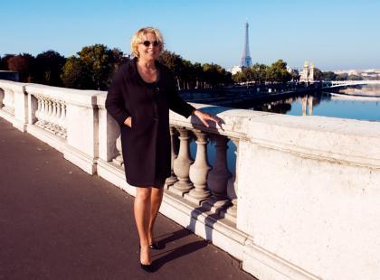 Joanna Sarapata w Paryżu