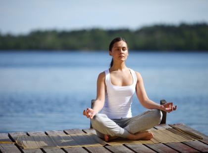 Joga hormonalna podczas menopauzy