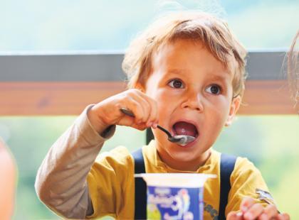 Jogurt w diecie dziecka
