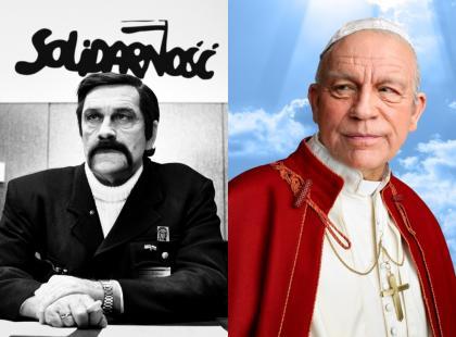 John Malkovich w roli Lecha Wałęsy, papieża Jana Pawła II oraz... Niezwykły projekt magazynu VIVA!