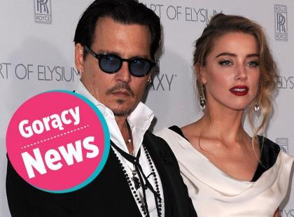 Johnny Depp i Amber Heard już po ślubie