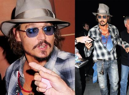 Johnny Depp -  Powrót łobuza