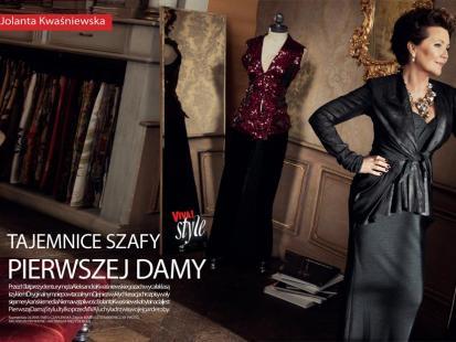 Jolanta Kwaśniewska - Lekcja stylu u pani prezydentowej