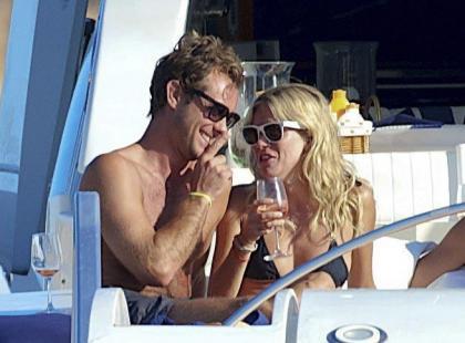 Jude Law i Sienna Miller na wakacjach