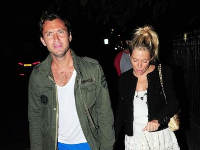Jude Law i Sienna Miller znów osobno!