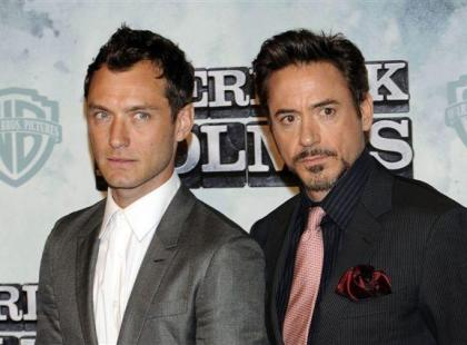 Jude Law vs Robert Downey Jr.