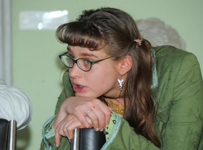 Julia Kamińska jako Ula-Brzydula?