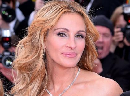Julia Roberts na czerwonym dywanie w Cannes... BOSO?!