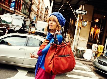 Julia Stegner w kampanii Reserved na jesień i zimę 2012/13