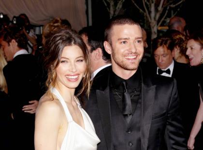 Justin Timberlake i Jessica Biel - Już po ślubie!