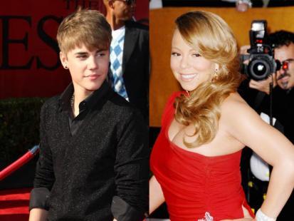 Justina Bieber i Mariah Carey razem!