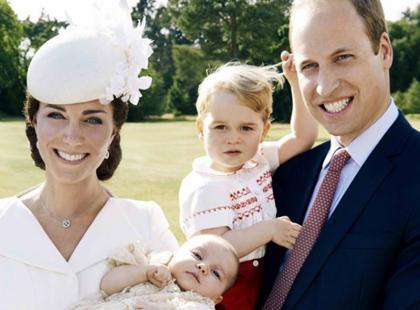 Już są! Oficjalne zdjęcia z chrztu księżniczki Charlotte