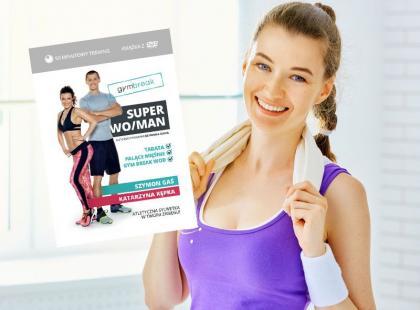 Już w sprzedaży! Książka z DVD Gym Break SUPER WO/MAN!