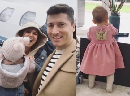 Już za miesiąc Klara Lewandowska kończy roczek! Co z tej okazji szykuje jej mama Ania?