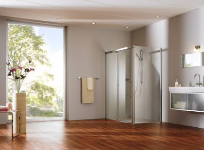 Kabiny prysznicowe wg Huppe