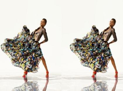 Kalejdoskopowe wzory, kolory i pawie pióra czyli Williamson dla H&M