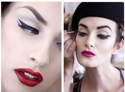 Kaligrafia makijażu