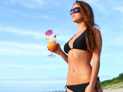 Kalorie na urlopie