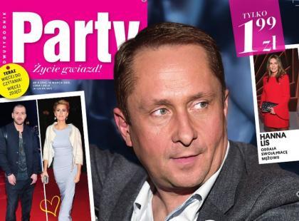 """Kamil Durczok na okładce nowego """"Party"""""""