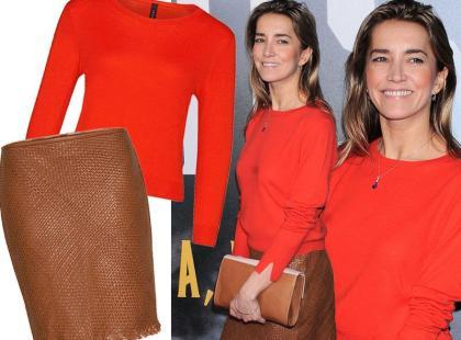 Kamilla Baar w ubraniach znanej marki