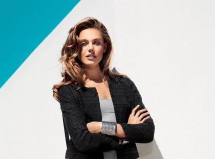 Kampania na wiosnę i lato 2013 marki H&M z Fridą Gustavsson