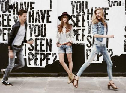 Kampania Pepe Jeans na wiosnę i lato 2013