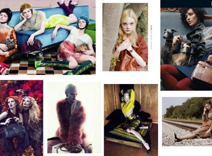 Kampanie reklamowe kolekcji domów mody - jesień-zima 2011/2012 - przegląd cz. 2
