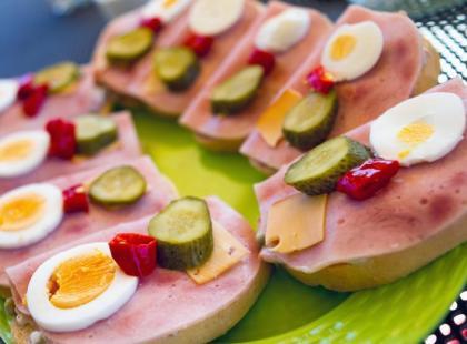 Kanapki - zdrowe i smaczne