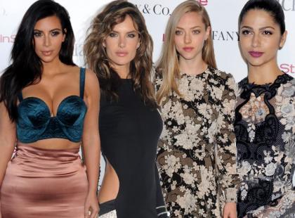 Kardashian, Ambrosio, Seyfried i Alves podczas eventu na rzecz walki z AIDS