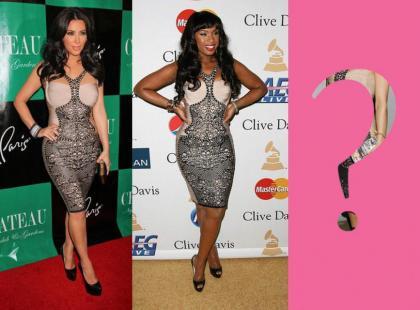 Kardashian i Hudson w tej samej sukience co polska gwiazda