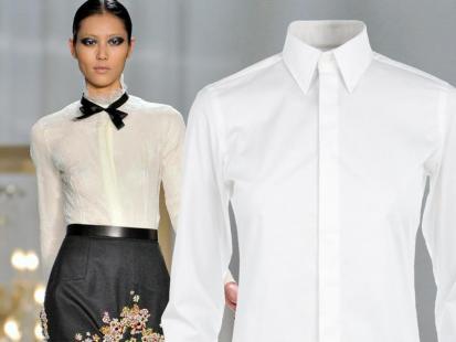 Kariera białej koszuli