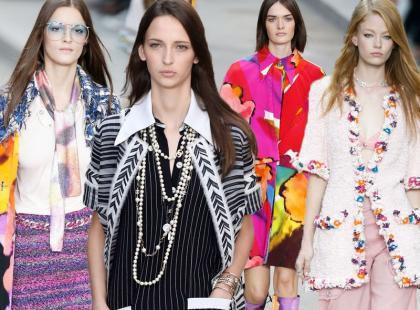 Karl Lagerfeld i jego szaleństo na pokazie Chanel