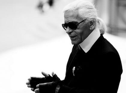 Karl Lagerfeld mistrz autokreacji