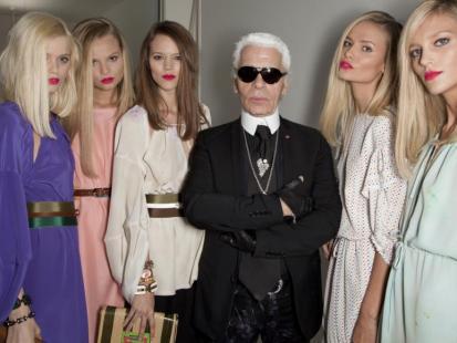 Karl Lagerfeld - ostatni wielki projektant