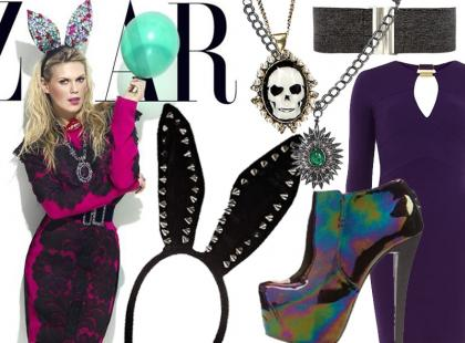 Karnawałowy look według Haper's Bazaar