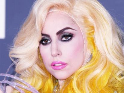 Karnawałowy makijaż w stylu Lady Gagi
