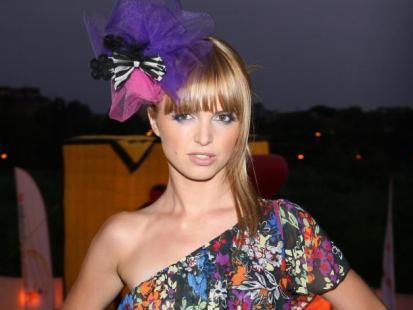 Kasia Burzyńska kocha kolorowe ubrania