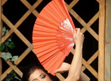 Kasia Cichopek tańczy flamenco