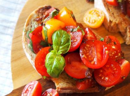 Kasia gotuje z Polki.pl- Bruschetta z pomidorami