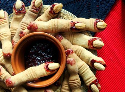Kasia gotuje z Polki.pl - Paluchy wiedźmy na Halloween