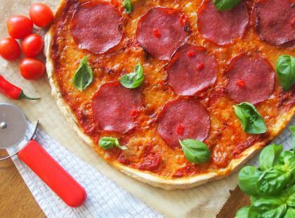 Kasia gotuje z Polki.pl- Pizza na cieście bezglutenowym