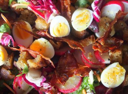 Kasia gotuje z Polki.pl - Sałatka z jajkami przepiórczymi