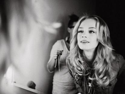 Kasia Smolińska z Top Model, dla marki Diva