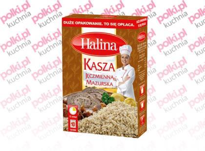Kasza Jęczmienna Mazurska marki Halina