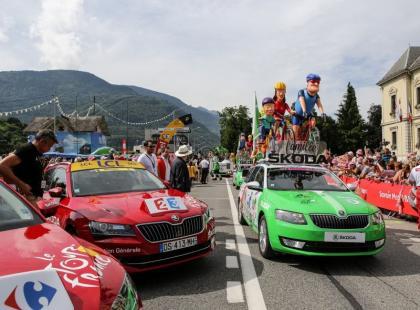 Katarzyna Bujakiewicz i ŠKODA na Tour de France
