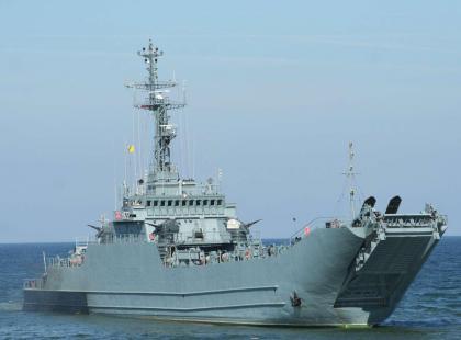 Katarzyna Mazurek pierwszą kobietą - dowódcą okrętu Marynarki Wojennej