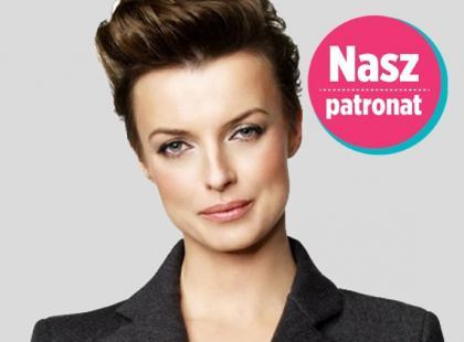 Katarzyna Sokołowska - jurorka Top Model - reżyserem Złota Nitka2013