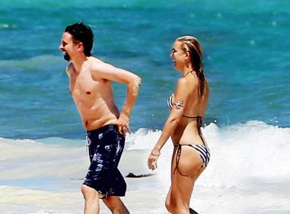 Kate Hudson i Matt Bellamy - Podróż poślubna?!