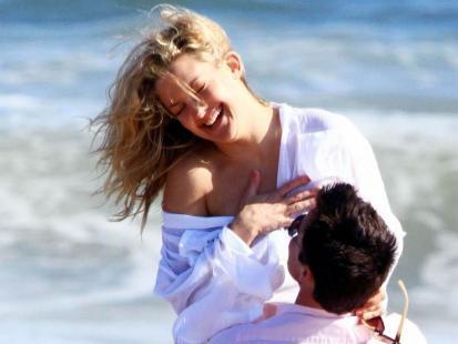 "Kate Hudson na planie filmu ""Something Borrowed"""